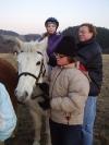vánoce u koní 2008