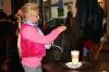 Poník Lea v Café AdAstra